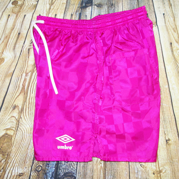 pink umbro shorts